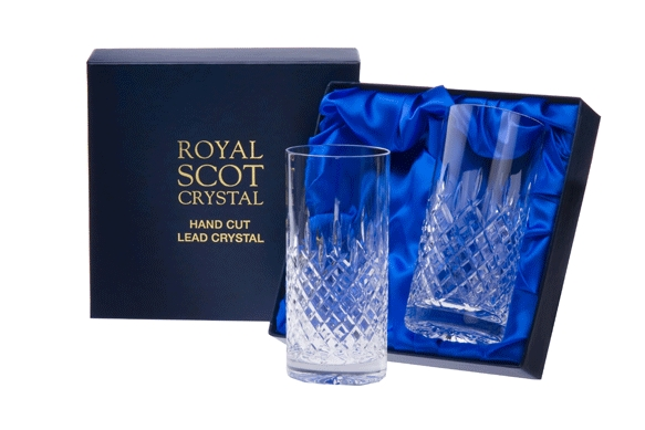 obrazek Royal Scot Crystal Szklanki London do Longdrinka 440ml 2szt.