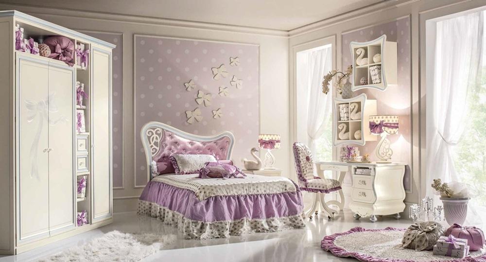 Luksusowa Sypialnia Dla Dziewczynek
