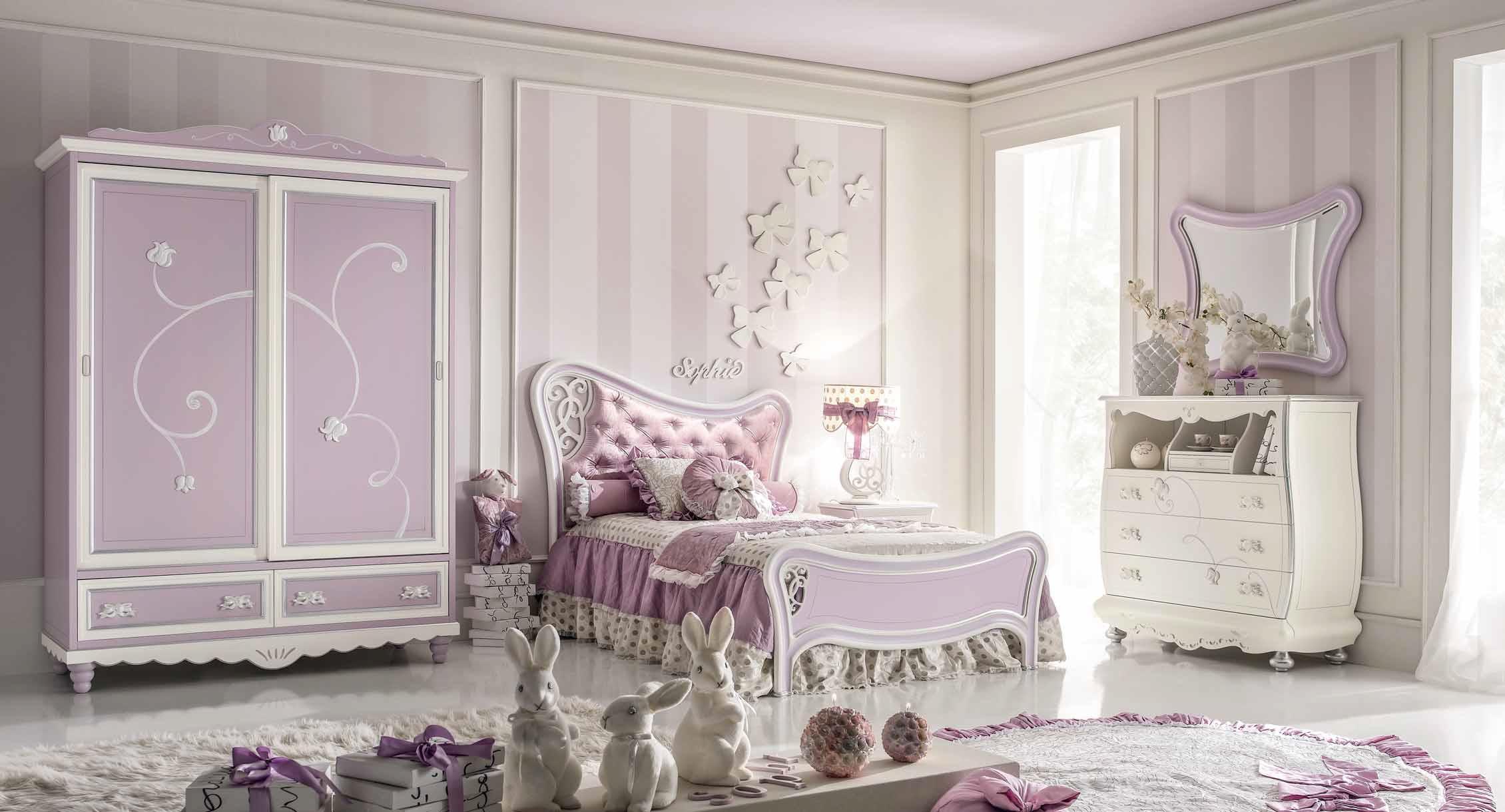 Wyjątkowa I Fantazyjna Sypialnia Dla Dziewczynek