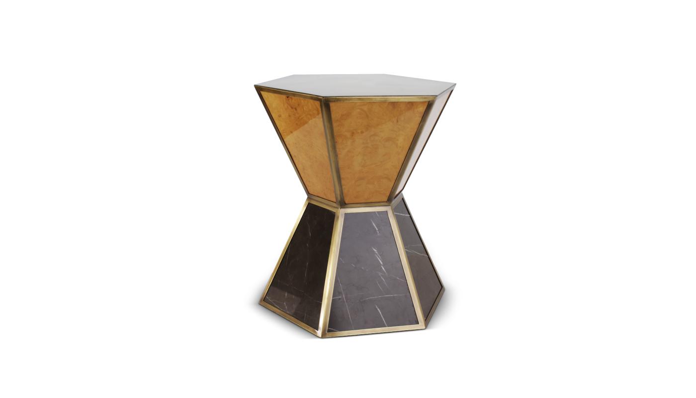 2906b08361ac59 obrazek 1 Nowoczesny luksusowy stolik z marmuru jak wieża Bank od America -  Porus Studio