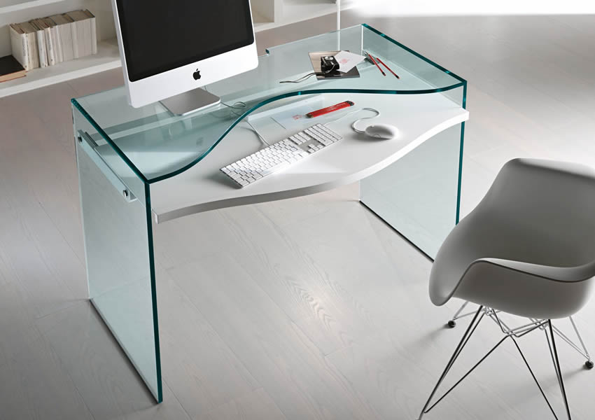 Eleganckie Szklane Biurko Pod Laptopa Luxuryproductspl