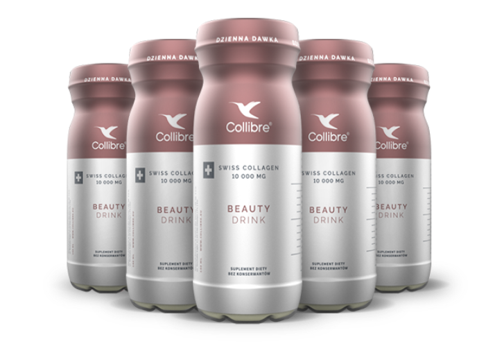 obrazek 2 30 + 2 GRATIS x COLLIBRE Swiss Collagen Beauty drink 140 ml - kolagen do picia