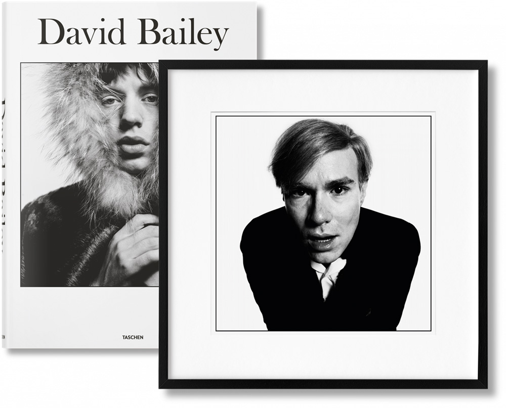 Picture Książka David Bailey. Art Edition No. 226–300 'Andy Warhol, 1965' - Taschen