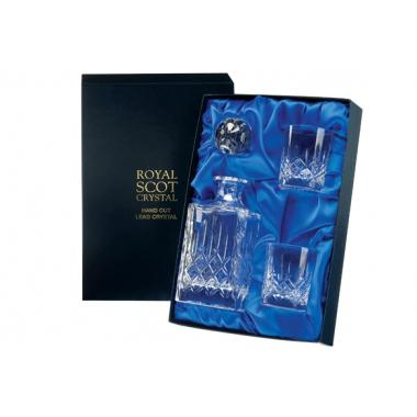 Picture Royal Scot Crystal Zestaw London do Whisky